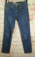AG Adriano Goldschmied The Stilt Cigarette Leg Jeans Skinny Blue 29R 29 x 29