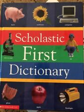 Scholastic First Dictionary Judith S. Levey 1998 Brand New