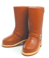 1/6 size momoko,Ruruko,Dollfie,Blythe,AZONE,obitsu doll Engineer boots BRN