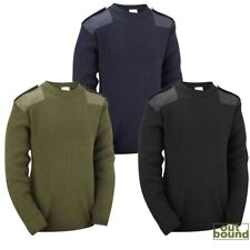 Mens New Army Military Combat Style Jumper Commando Pullover Security Winter Top