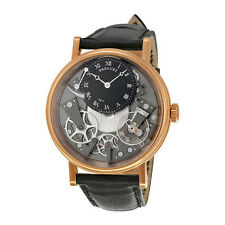 Breguet Tradition Automatic Skeleton Dial 18 kt Rose Gold Mens Watch