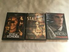 American Psycho, Stay & Stir of Echoes Dvd Lot