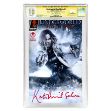 Kate Beckinsale Autographed Underworld Blood Wars #1 CGC SS 10 * CA Exclusive
