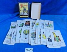 Vintage Antique German Card Game: Das Quartett Der Technik, B Braun-Fock Art WZ3