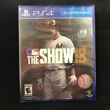 MLB The Show 18 (PlayStation 4) BRAND NEW