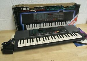 Vintage Yamaha Keyboard VSS-200 Boxed + Boots Exclusive Cassette/Tuition Book