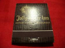Matchbook Vintage JOLLY ROGER INN Hotel Restaurant CA  Matches MATCH COVER
