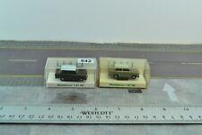 IMU 2X Trabant 601 East Germany Cars 1:87 Scale HO (HO642)