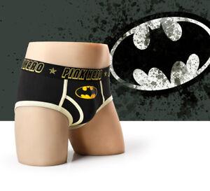 Pink Hero Men's Underwear Super Hero Underpants Boxer Cotton Boy Shorts Brief
