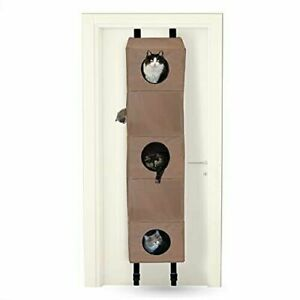 """K & H Hangin' Cat Condo Large 65 X 16 X23"""" Holds Multiple Cats"""