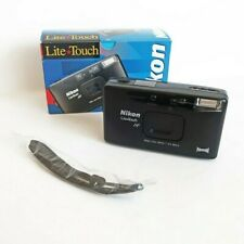 Nikon Lite Touch AF600 Point & Shoot Film Camera 28mm F3.5 Macro Made in Japan