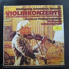 Mozart, Schneiderhan - Violin Concertos 3 LP Mint- 28964 006 Germany w/Book