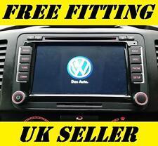 VOLKSWAGEN RADIO SAT NAV DVD PLAYER Bluetooth Vivavoce Stereo Auto Golf T5 GPS