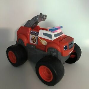 Blaze and the Monster Machines Transforming Fire Truck Light Sound Fisher Price
