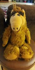 """Rare Vintage 1986 Alf Character Stuffed Plush Toy 14"""" Coleco Alien Productions"""
