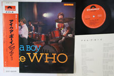 LP WHO I'm A Boy SLPM1354 POLYDOR JAPAN Vinyl OBI