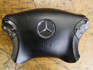 Orig Mercedes W203 S203 Lenkradabdeckung Airbag mit Lenkradtaste A2034601898