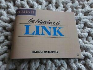 ZELDA 2 : THE ADVENTURE OF LINK - NES Manual / Instruction Booklet - NEW II