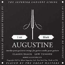 Augustine Classic Black Low Tension Classical Nylon Guitar String Set