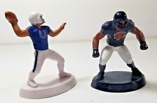 """Chicago Bears Indianapolis Colts action figures Sticker 3"""" tall EA Sports Madden"""