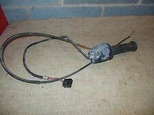 78 Yamaha XS Eleven 1100 right bar switch throttle tube cable on off start wires
