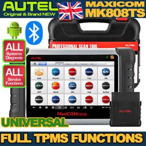 2021BRAND NEW ORIGINAL Autel MK808TS OBD2 Bluetooth Car Computer Diagnostic TPMS