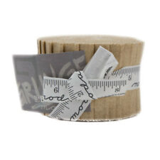 Moda Fabric Grunge Junior Jelly Roll   Tan - Patchwork Quilting 2.5 Inch Strips
