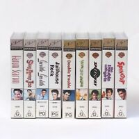 Lot of 9 Elvis Presley VHS Tape Movies: Jailhouse Rock, Viva Las Vegas + MORE