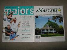 LOT 2 GOLF MASTERS 2013 Official Program Journal MAJORS 2014 Guide Arnold Palmer