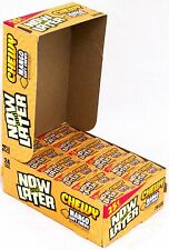 Now and Later Chewy Mango Soft Candy Chews 24 Count 6 piece bars Bulk Taffy