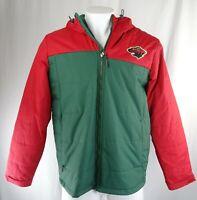Minnesota Wild NHL Men's Full-Zip Puffer Jacket