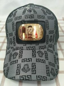NWT Versace Baseball Hat Gray Golf Outdoor Cap Unisex