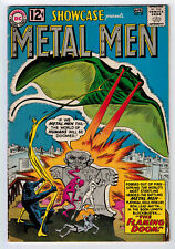 SHOWCASE #37 4.5 1ST APPEARANCE METAL MEN 1962 OFF-WHITE/WHITE PAGES