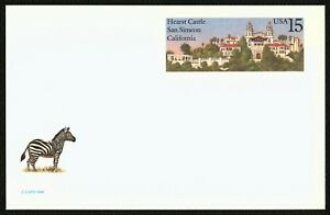 #UX125 15c Hearst Castle, Mint ANY 4=