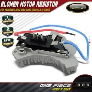 Blower Motor Heater Fan Resistor for Mercedes Benz C180 C200 C220 SLK E-Class