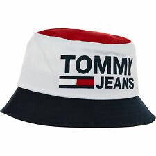 TOMMY HILFIGER TJU Flock Bucket Hat, Unisex, One size Adult