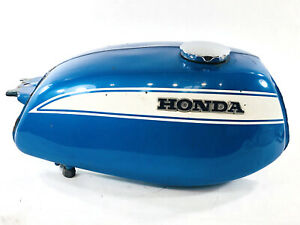HONDA CL175 FUEL TANK ORIGINAL PAINT SAPPHIRE BLUE