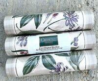 Croscill Wallpaper Border Autumn Leaves 5 Yards Brand New Sealed Set Of 3