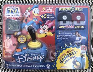 DISNEY Plug & Play TV Games Game Key Mega Pack 2005 Jakks Pacific NEW Sealed