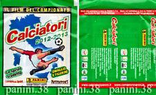 """RARE ! Pochette """"CALCIATORI 2012/13"""" OMAGGIO SPRINT packet, tüte, bustina PANINI"""