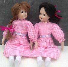 Bisque dolls made in Germany JDK & Armand Marseille reproductions Thomas Baecker