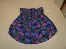 Nollie ladies floral tube top new with tags size small