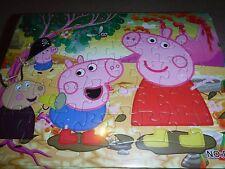 Brand New Jigsaw Peppa Pig mud Puzzles 40 pcs