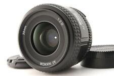 """""""Mint"""" Nikon AF Nikkor 35mm F/2 D Wide Angle Lens From Japan D377"""