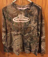 Team Realtree Long Sleeve Shirt Brown Camo XL (16-18) Girl