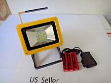 Rechargeable 30W outdoor Portable 24 LED Flood Work Light Caravan Camping Lamp