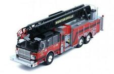 IXO 1/43 Smeal 105' Aerial Ladder Fire Truck HUNTERSVILLE Diecast Replica TRF012