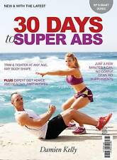 30 Days to Super Abs, Damien Kelly, Very Good condition, Book