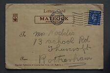 R&L Postcard: 1940's Matlock Letter-Card, Derbyshire
