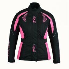 Ladies Motorbike Motorcycle Water Proof WindProof Thermal Lining Armoured Jacket